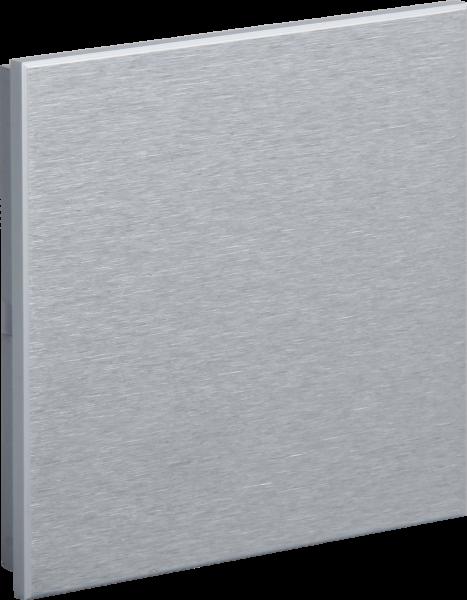 KNX Metall Taster · ROSA Aluminium Natur