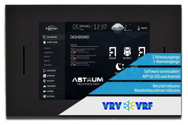 """INSPINIA Vitre VRF VRV (10"""" Touch Panel mit VRF VRV)"""