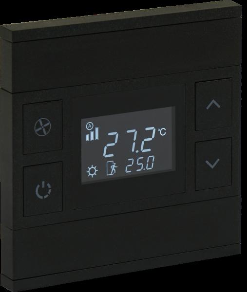 KNX Temperatur Taster ORIA Anthrazit
