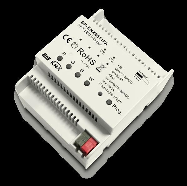 Hutschienen KNX RGBW LED Dimmer