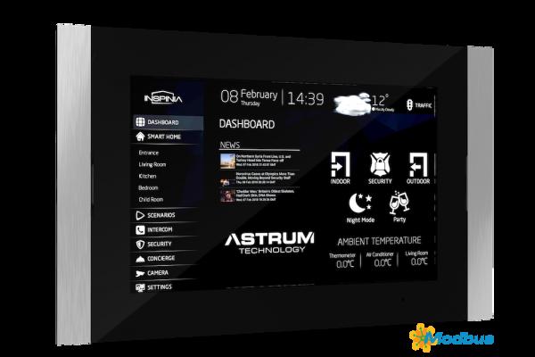 "INSPINIA Slim 10"" Touchpanel mit Modbus"
