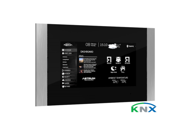 touch panel mit knx visualisierung smart home software. Black Bedroom Furniture Sets. Home Design Ideas