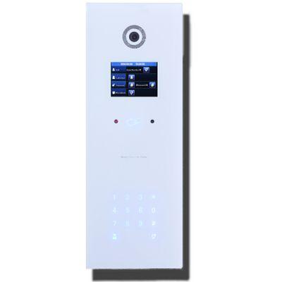 IP Video Türsprechanlage mit Kamera und Kartenleser für Einfamilienhaus, Mehrfamilienhaus, 2 Familienhaus, 3 Familienhaus, 4Familienhaus, Büro, Hotel, Arztpraxis