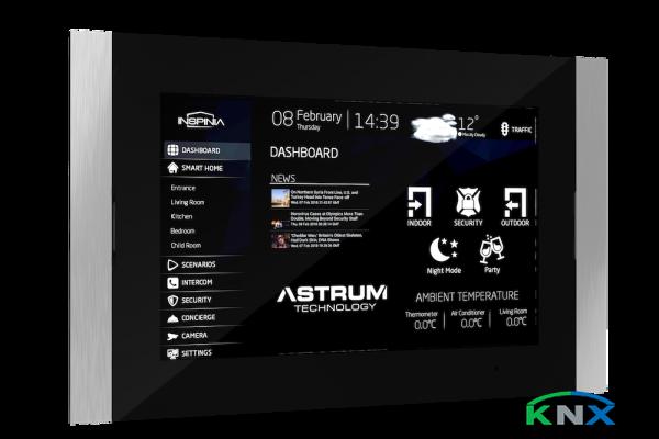 """INSPINIA Slim 10"""" Touch Display für Wandeinbau mit KNX Modul"""