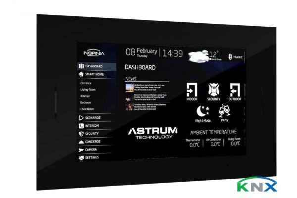 "7"" Vitre KNX Wandeinbau Touch Panel"