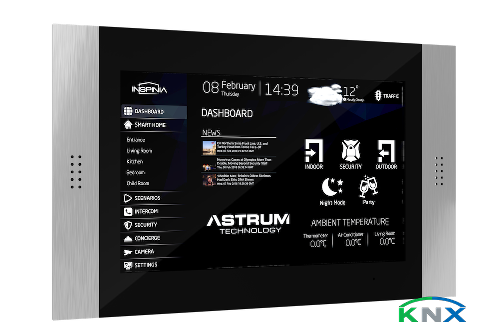 10 touch panel knx visualisierung smart home software ptp innovations smart home knx shop. Black Bedroom Furniture Sets. Home Design Ideas
