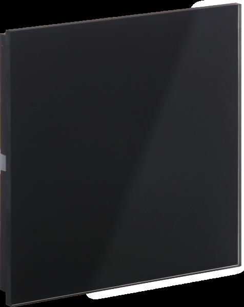 KNX Glas Taster · ROSA schwarz